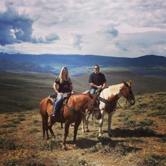 Rusty Spurr Ranch, Kremmling, Colorado, horseback riding