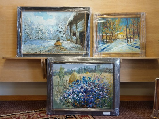 Russian impressionist master artworks on display at Vail Fine Art Uncrated.