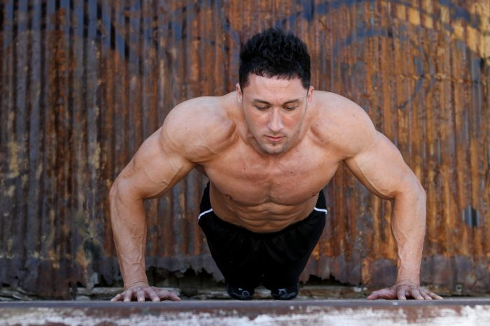 Pushups are a great workout you can do anywhere.