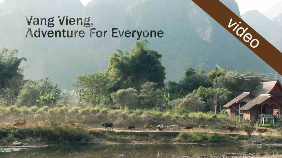 Vang Vieng, Adventure For Everyone