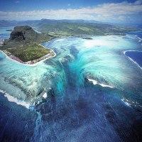 Le cascate sottomarine alle Mauritius: un fenomeno unico al mondo