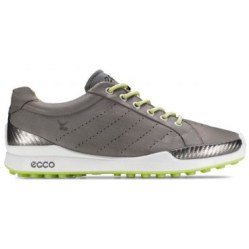 Ecco Biom Hybrid HydroMax™ Golf Shoe 131504 (Warm Grey/Lime Punch)