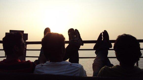 Sunset at Dona Paula