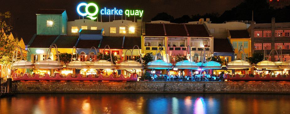 Clarke-Quay-by-night