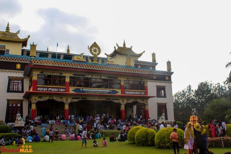 Namdroling monastery bylakuppe