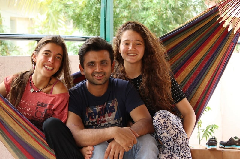 couchsurfing in India