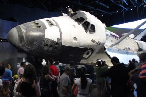 Die Atlantis flog über 30 Missionen ins Weltall