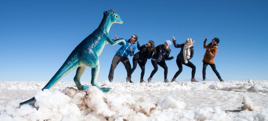 Salar de Uyuni - unterwegs zur größten Salzwüste der Welt