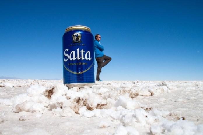 Salar de Uyuni, Bolivien