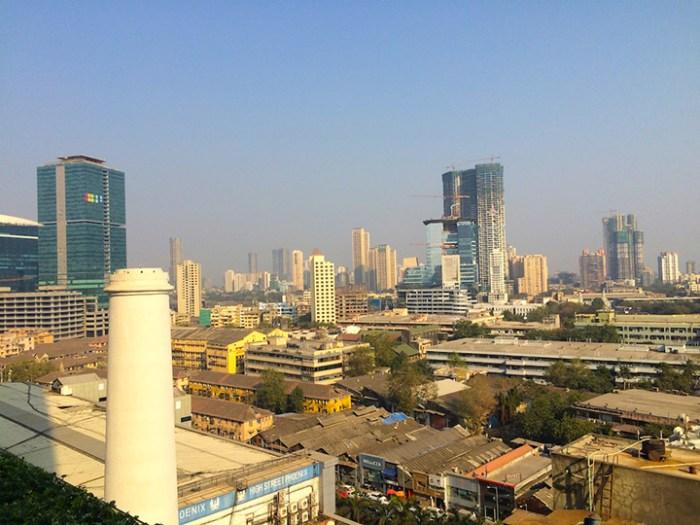 Die Skyline von Mumbai