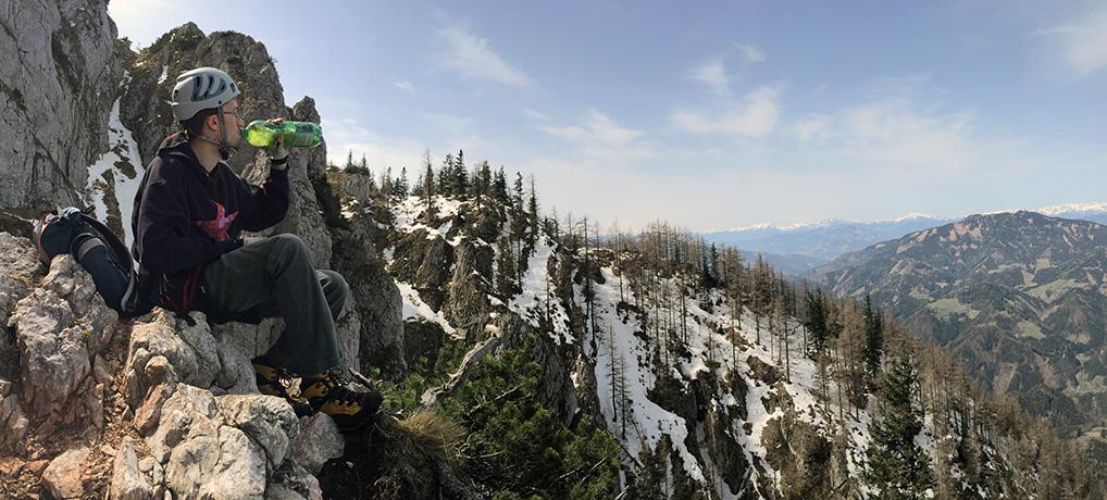 Hochlantsch Klettersteig im Grazer Bergland