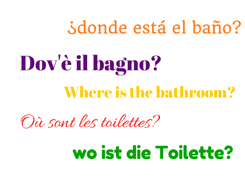 4  Where is. Top 5 phrases in 5 different languages every traveler should learn