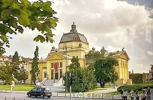 The grand Art Pavilion - Umjetnicki Paviljon, Zagreb, Croatia