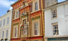 Egyptian House – An Unusual Sight in Penzance