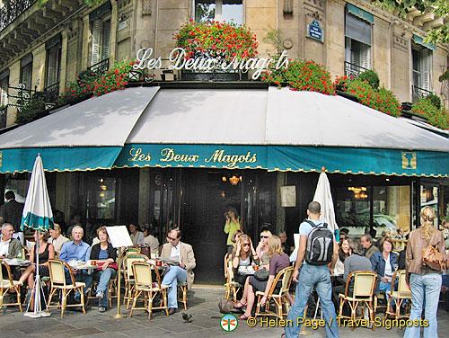 Les Deux Magot, Paris Cafe