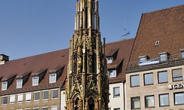 Schöner Brunnen - Nürnberg Hauptmarkt