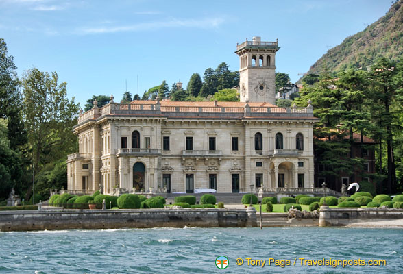 Villa Erba, Lake Como Cruise