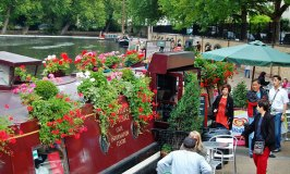 A Charming Waterside Cafe in Little Venice