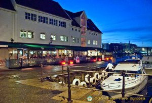 Bergen Harbourfront in Winter