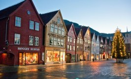 Bergen – Famous for its Bryggen Hanseatic Wharf