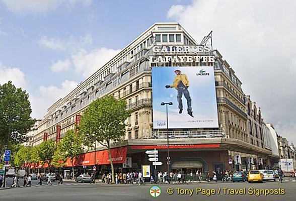paris shopping les grands magasins of paris. Black Bedroom Furniture Sets. Home Design Ideas