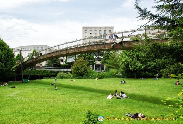 Jardin de Reuilly