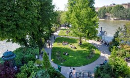 Square du Vert-Galant – Named after an Amorous King