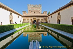 Myrtle Courtyard - Alhambra