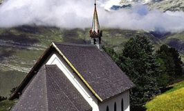 An Alpine Chapel at Riffelalp