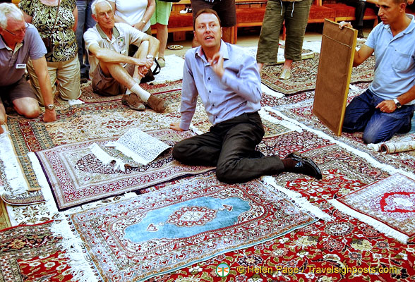 Carpet Factory in Turkey