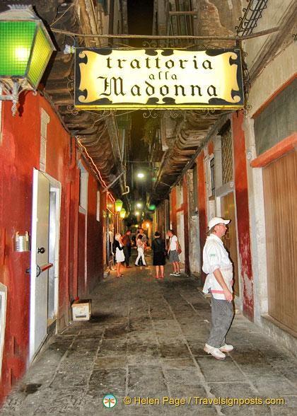 Trattoria alla Madonna Venice