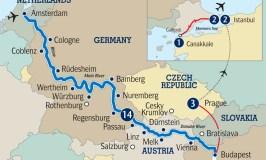 Amsterdam to Budapest river cruise + Gallipoli Dawn Service