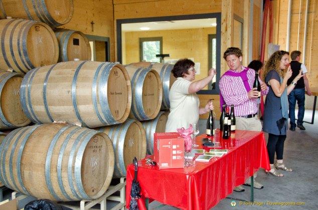 Fürst Löwenstein Wine-tasting at Schloss Kleinheubach
