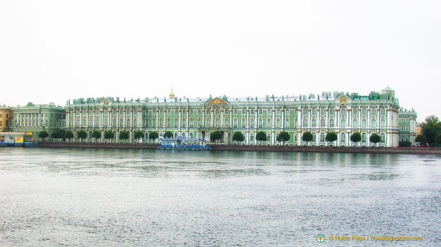 The famous Hermitage Museum in St Petersburg