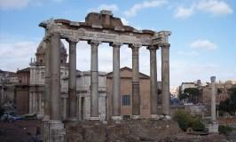 Rome- the terminus of Via Francigena