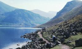 Ennerdale Water, at the edge of the Lake District, UK