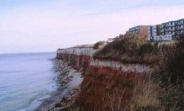 The red cliffs at Hunstanton