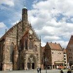 Frauenkirche in Nuremberg Marktplatz