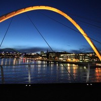 Newcastle: Bridges over Tyne and Toon