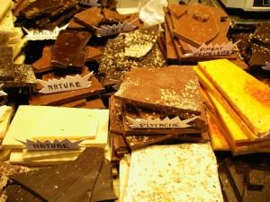 Schokolade soweit das Auge (und der Magen) reicht...