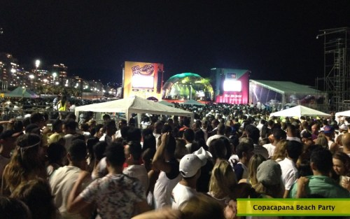 Copacabana Beach Party
