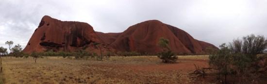 Uluru Sunrise Tour Panorama