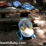First camping trip with baby travelswithbaby.com