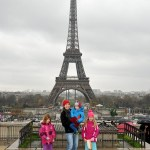 Paris in winter, with kids