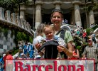 Barcelona with baby