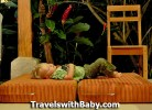 zonked in Costa Rica toddler