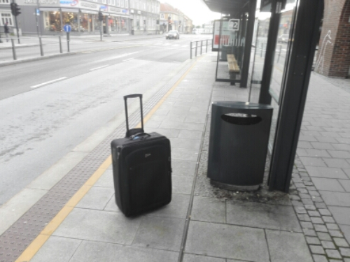 My bag on my travel to Japan