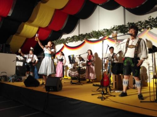 German music at Himeji Oktoberfest