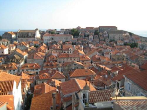 View of the city from the Walls of Dubrovnik