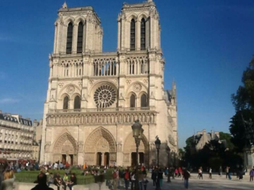 The Notre Dame in Paris